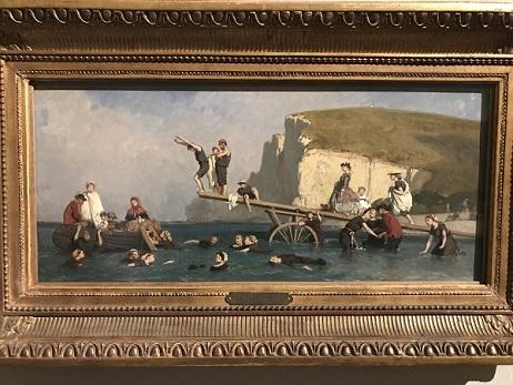 Bagno a Etretat di Eugène Le Poittevin credits Cristiana Pedrali