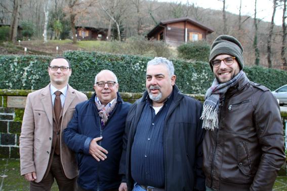 da sx Il sindaco Giuseppe Di Cerbo lAvv. Vincenzo Cappabianca