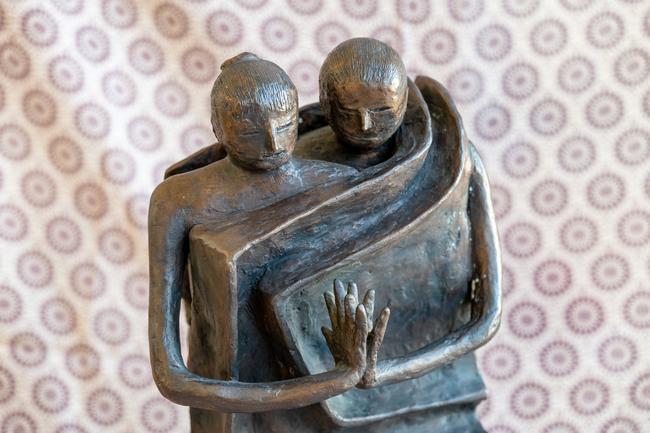 La scultura Coppia
