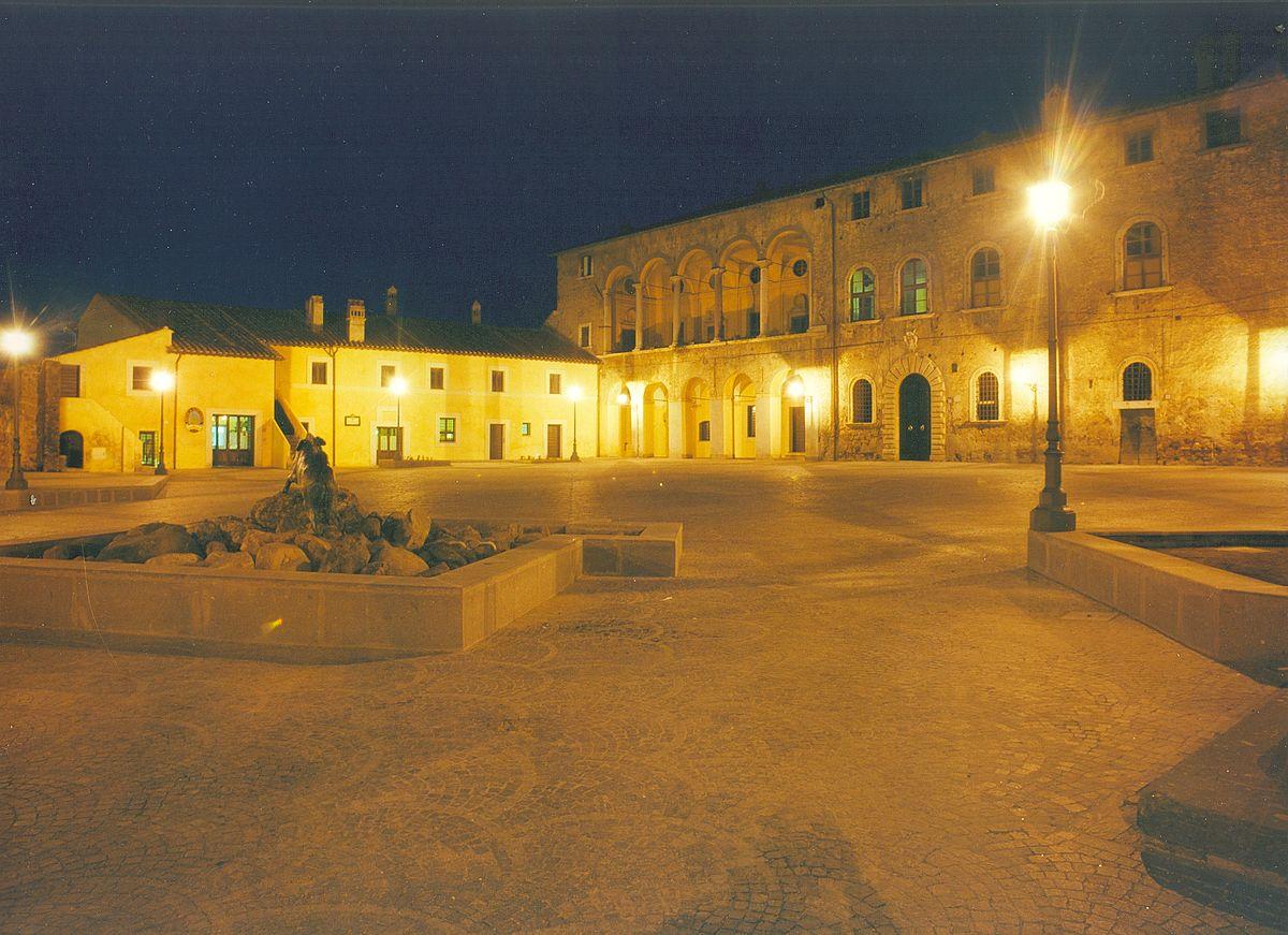 Piazza s.maria cerveteri